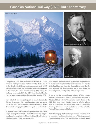Page 40 of Canadian National Railway (CNR) 100th Anniversary