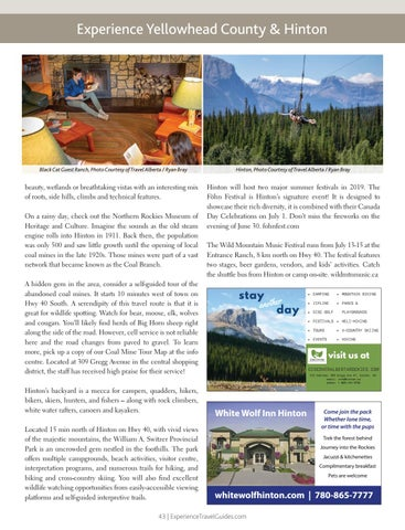 Page 43 of Experience Yellowhead County & Hinton