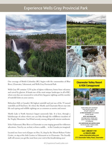 Page 45 of Experience Wells Gray Provincial Park