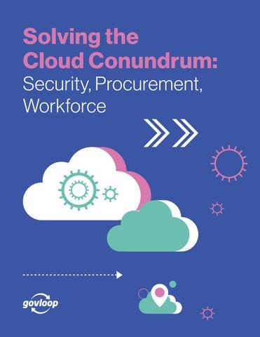 Solving the Cloud Conundrum: Security, Procurement