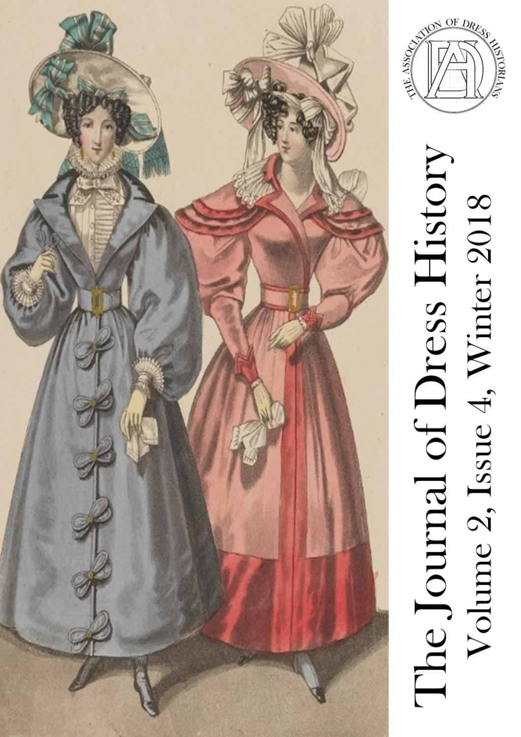 The Journal Of Dress History Volume 2 Issue 4 Winter 2018