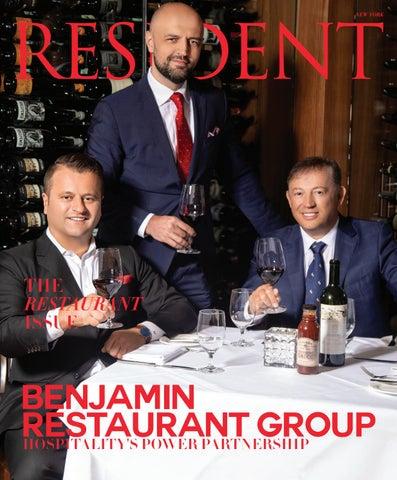 53b2be7e7b9 Resident Magazine NY JUNE 2019_BENJAMIN RESTAURANT GROUP by Resident ...