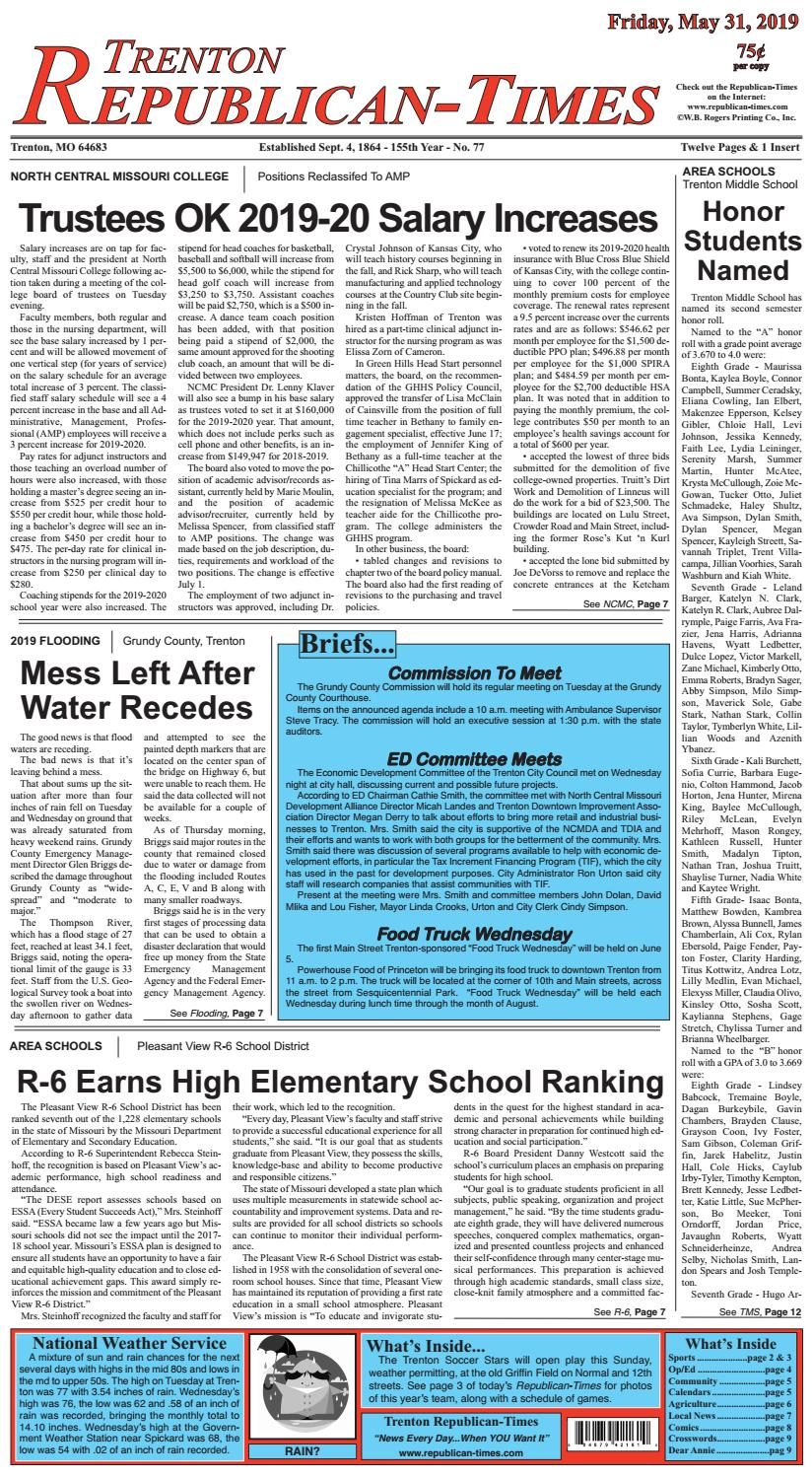 Trenton R-Times by Gallatin Publishing Company - issuu