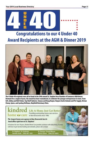 Page 11 of Congratulations to our 4 under 40