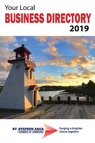 St  Stephen Area Chamber of Commerce 2019 Business Directory