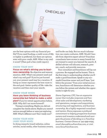 Page 53 of Franchise Precheck
