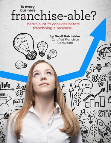 Page 72 of Is every  business franchise-able?