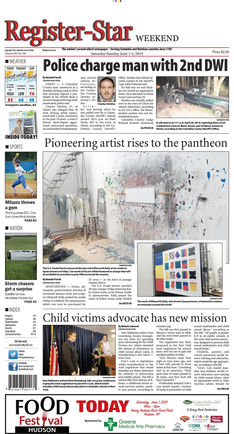 eedition Register-Star June 1-2 2019 by Columbia-Greene