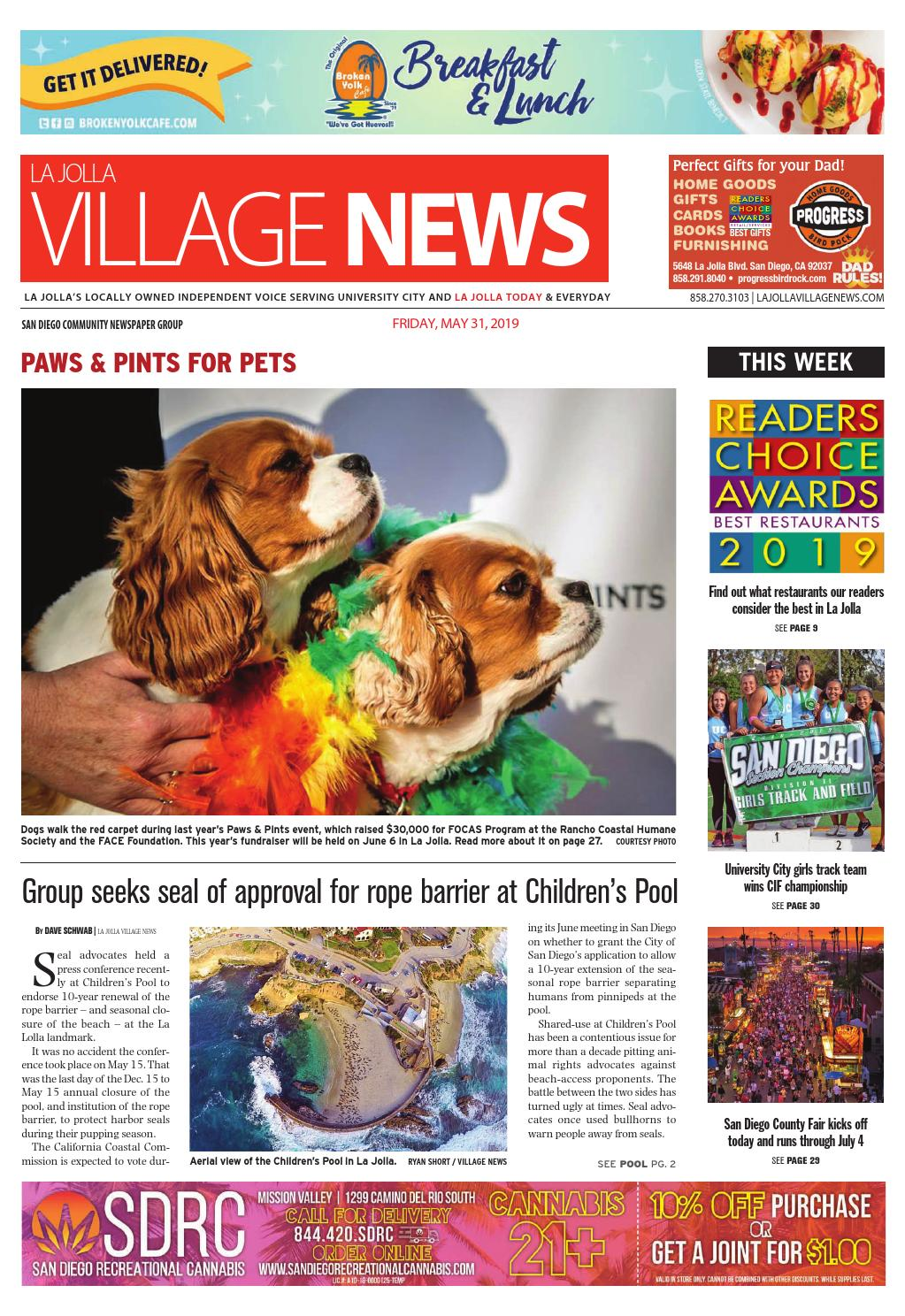 La Jolla Village News, May 31st, 2019 by San Diego Community