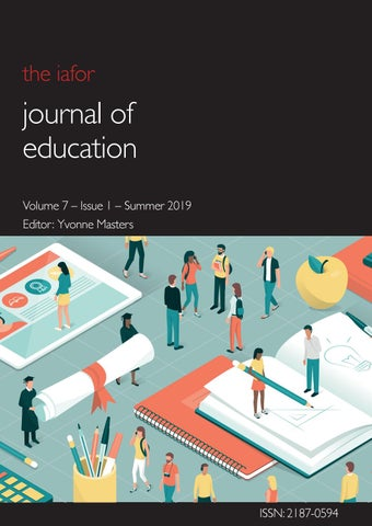 IAFOR Journal of Education Volume 7 – Issue 1 – Summer 2019 by IAFOR