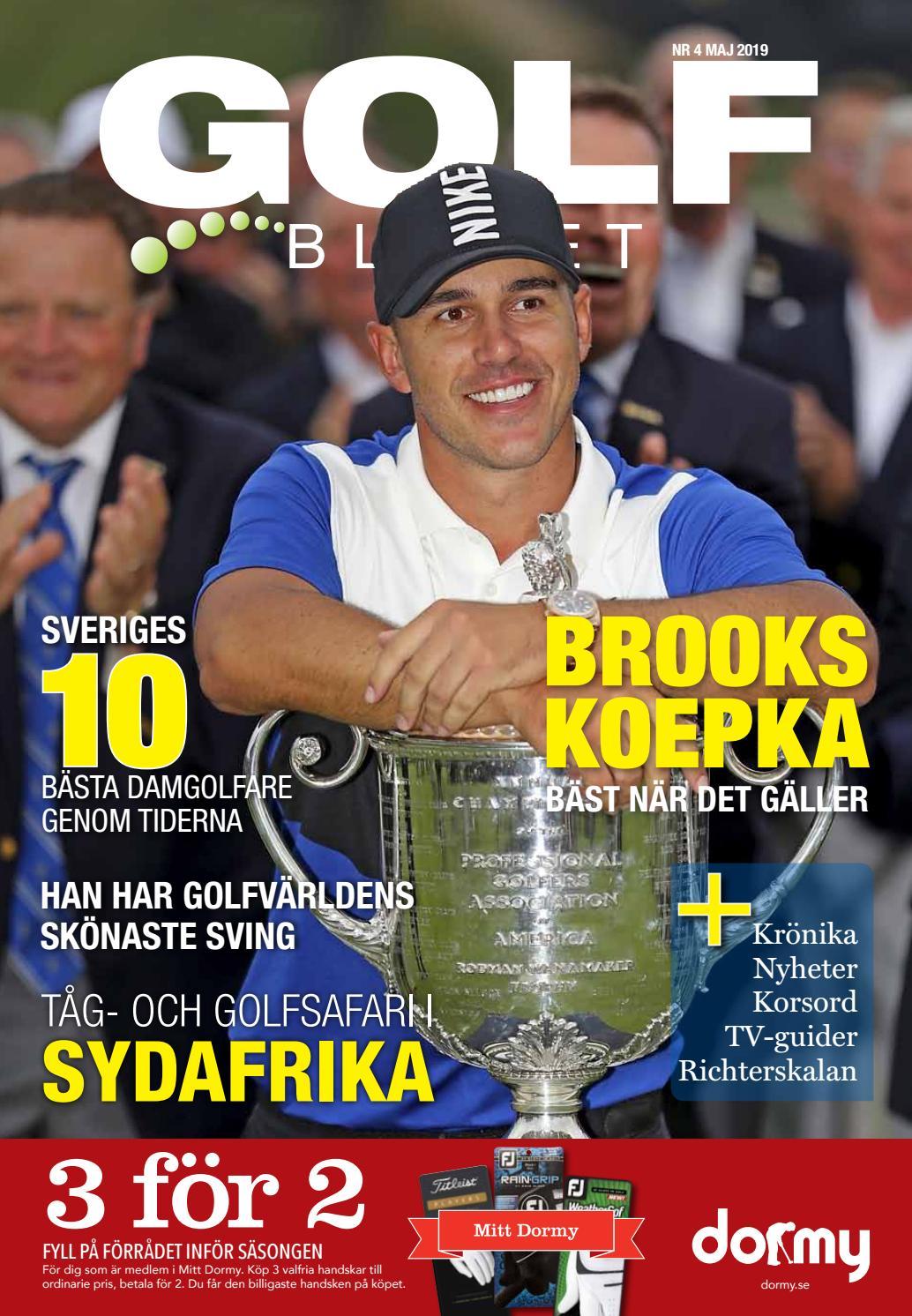 Golfbladet 2019/4 by Fredrik Richter - issuu