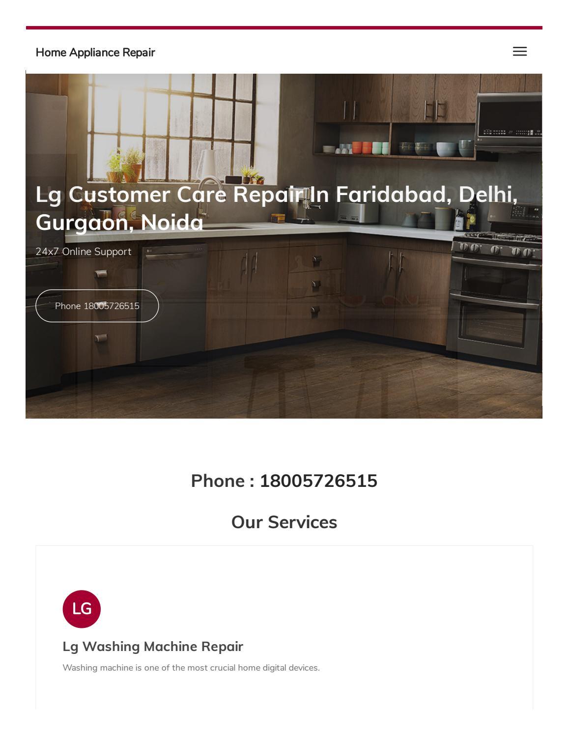 Lg Appliance Customer Service
