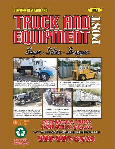 Truck And Equipment Post - Issue #24-25, 2019 by 1ClickAway