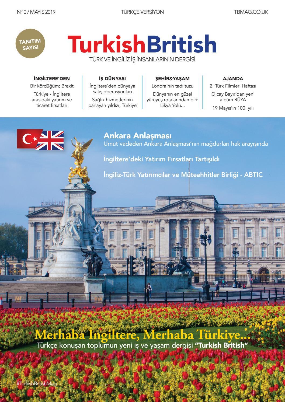 Turkish British Magazine Promotional Edition By Afs