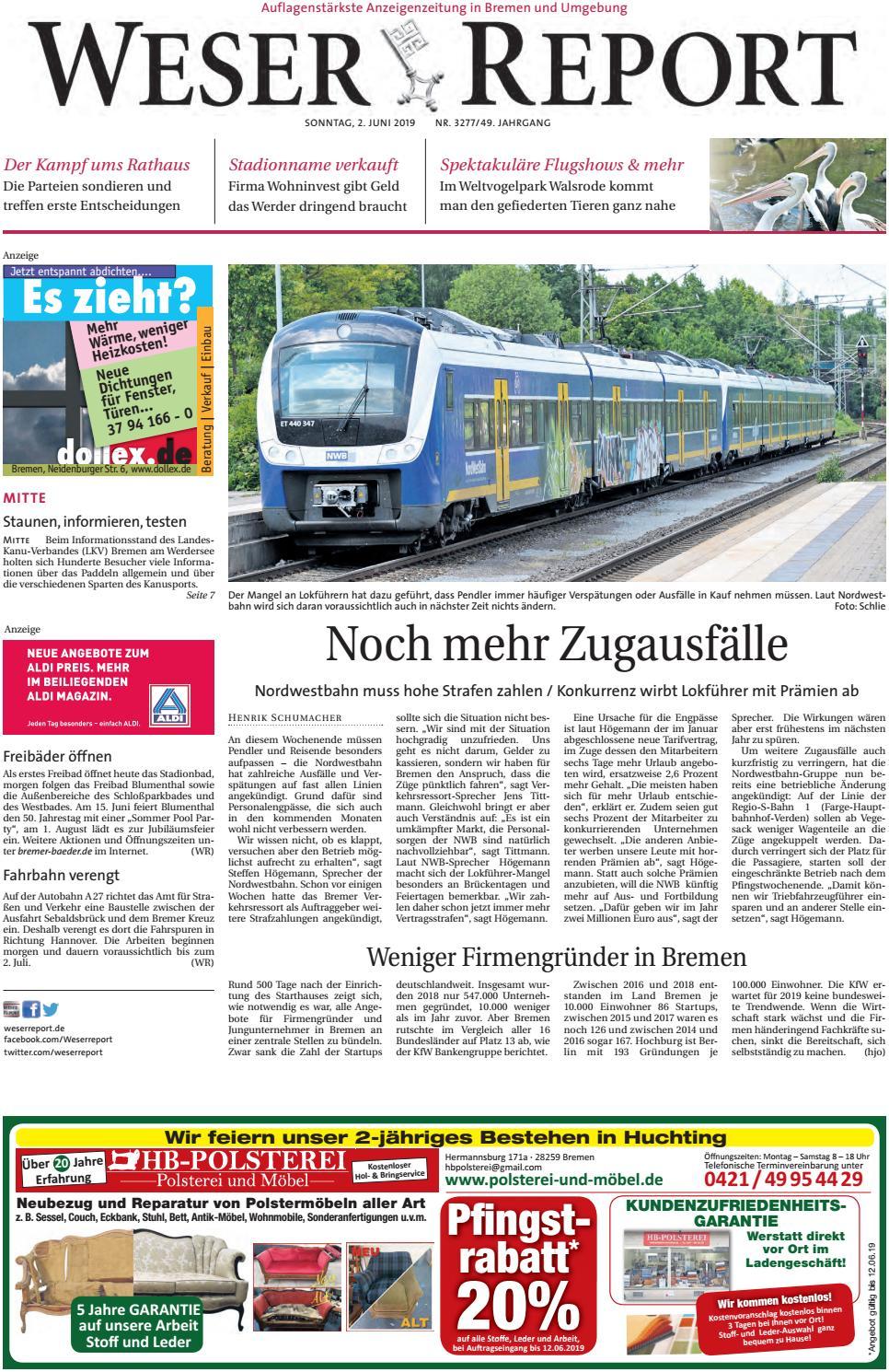Weser Report Mitte vom 02.06.2019 by KPS