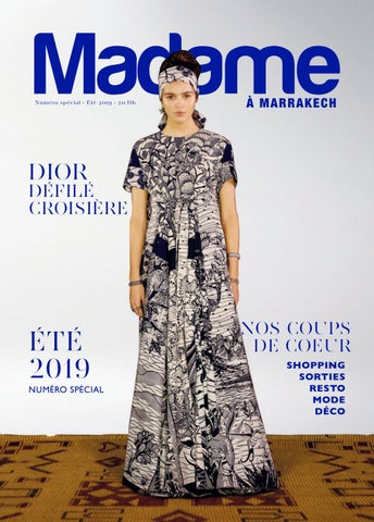 2019 À Eté Issuu By Marrakech Madame L4Aj35R