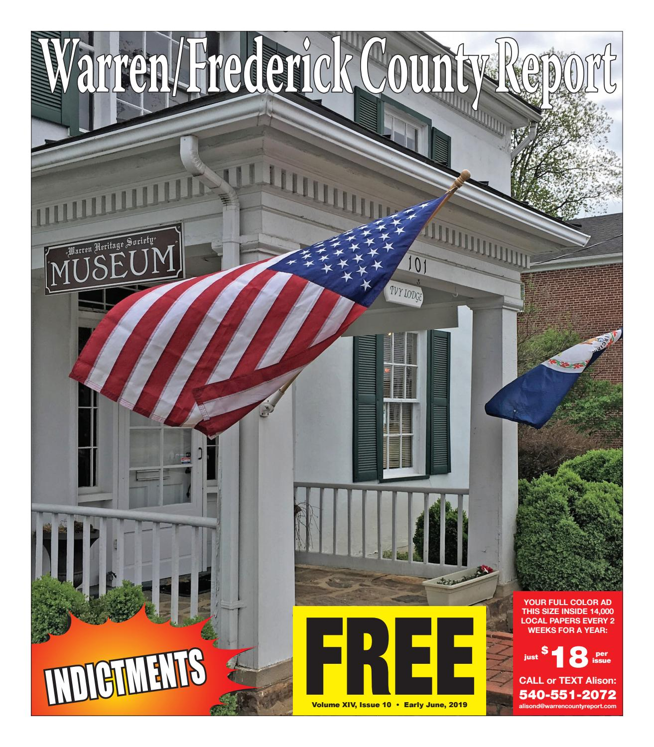 Early June 2019 Warren/Frederick County Report by Warren