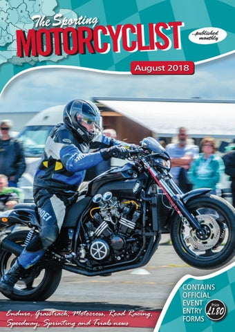 The Sporting Motorcyclist (August 2018) by The Sporting