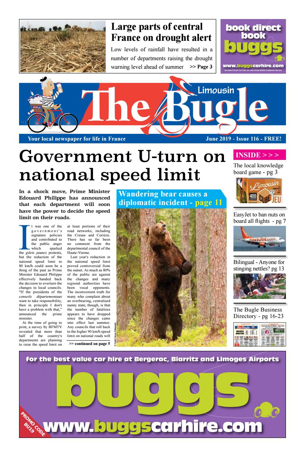 The Bugle Limousin June 2019 By The Bugle Issuu