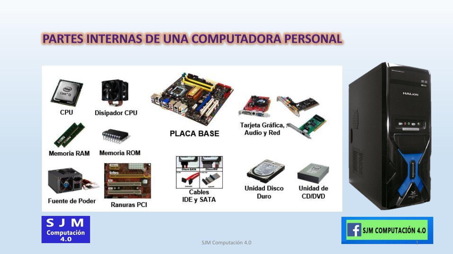 PARTES INTERNAS DE UNA COMPUTADORA PERSONAL by EMERSON51 - issuu