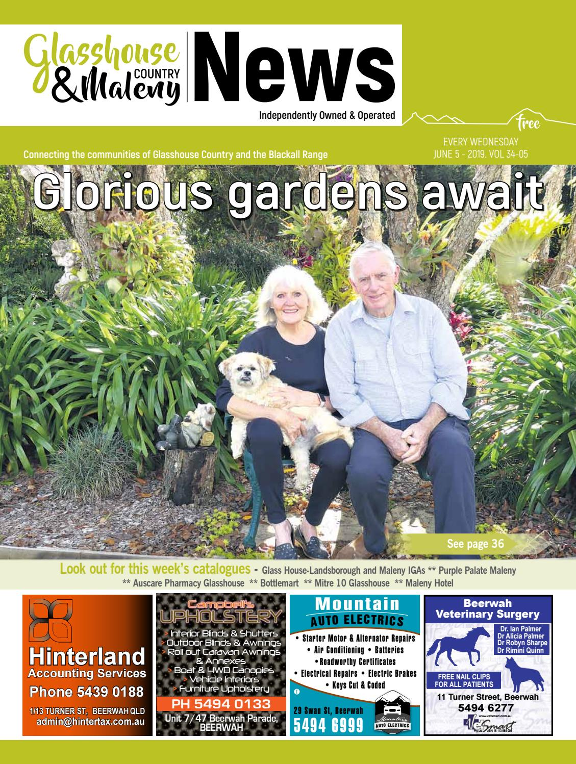 Edition 5 June 2019 by Glasshouse Country & Maleny News - issuu
