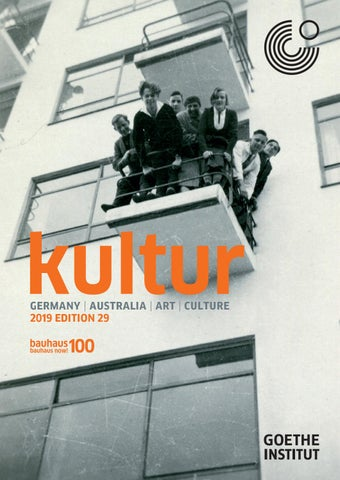 Kultur Magazine 29 by Goethe-Institut Australia - issuu