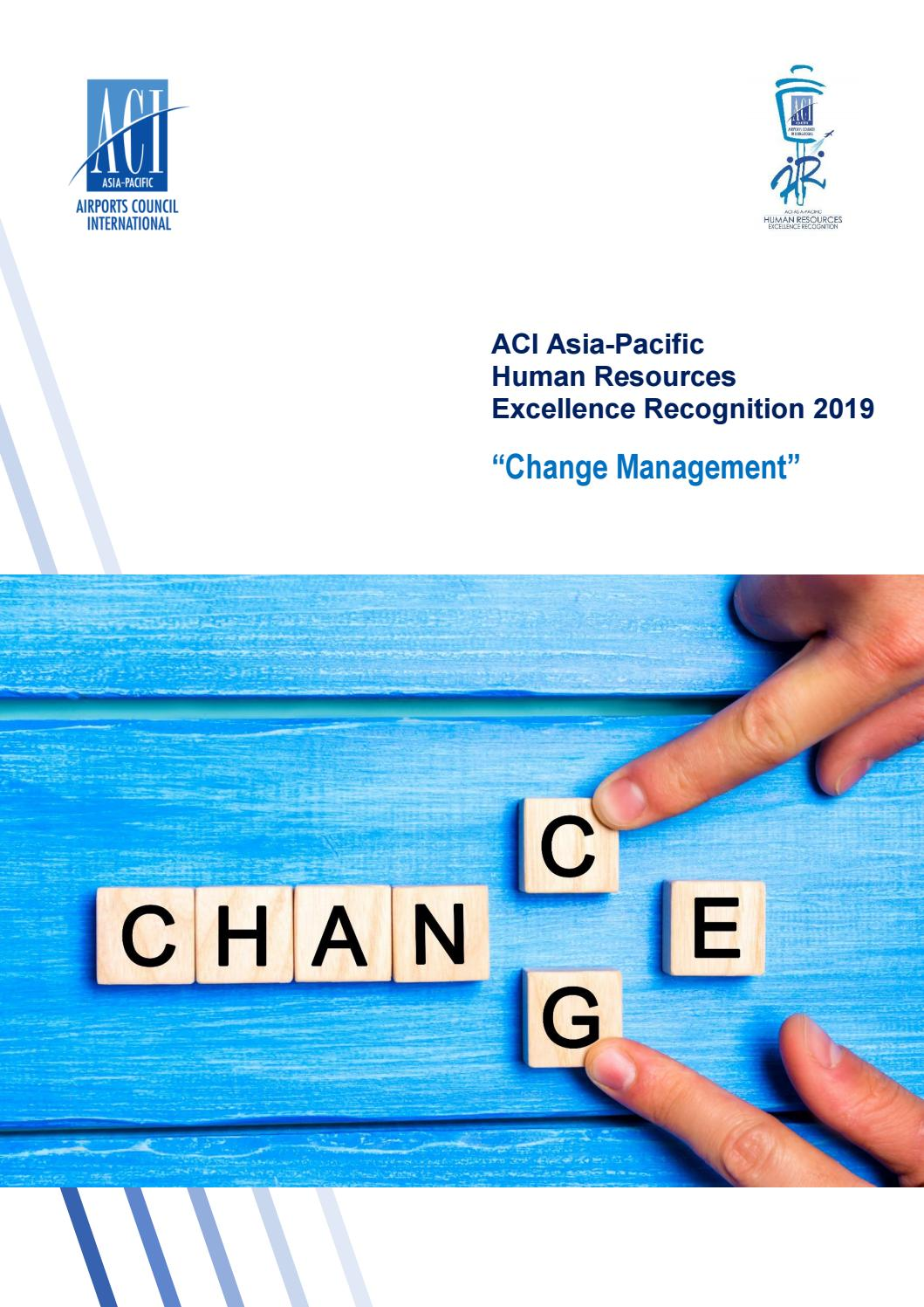 ACI Asia Pacific Human Resources Excellence Recognition 2019