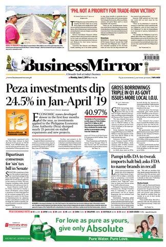 BusinessMirror June 03, 2019 by BusinessMirror - issuu