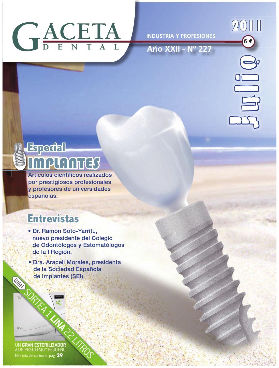 Gaceta Dental 227 By Peldaño Issuu