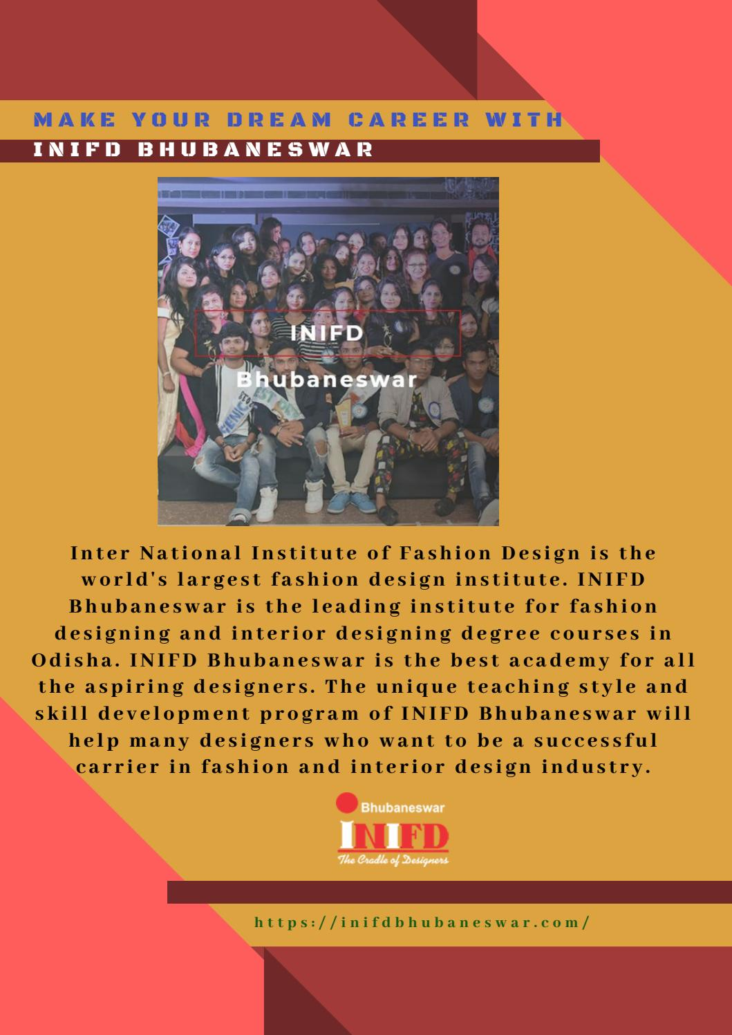 Fashion Designing Institute In Odisha By Inifd Bhubaneswar Issuu