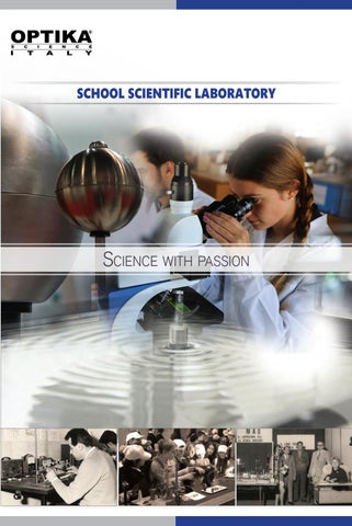 OPTIKA_Science_Catalogue_EN by OPTIKA Science Italy - issuu