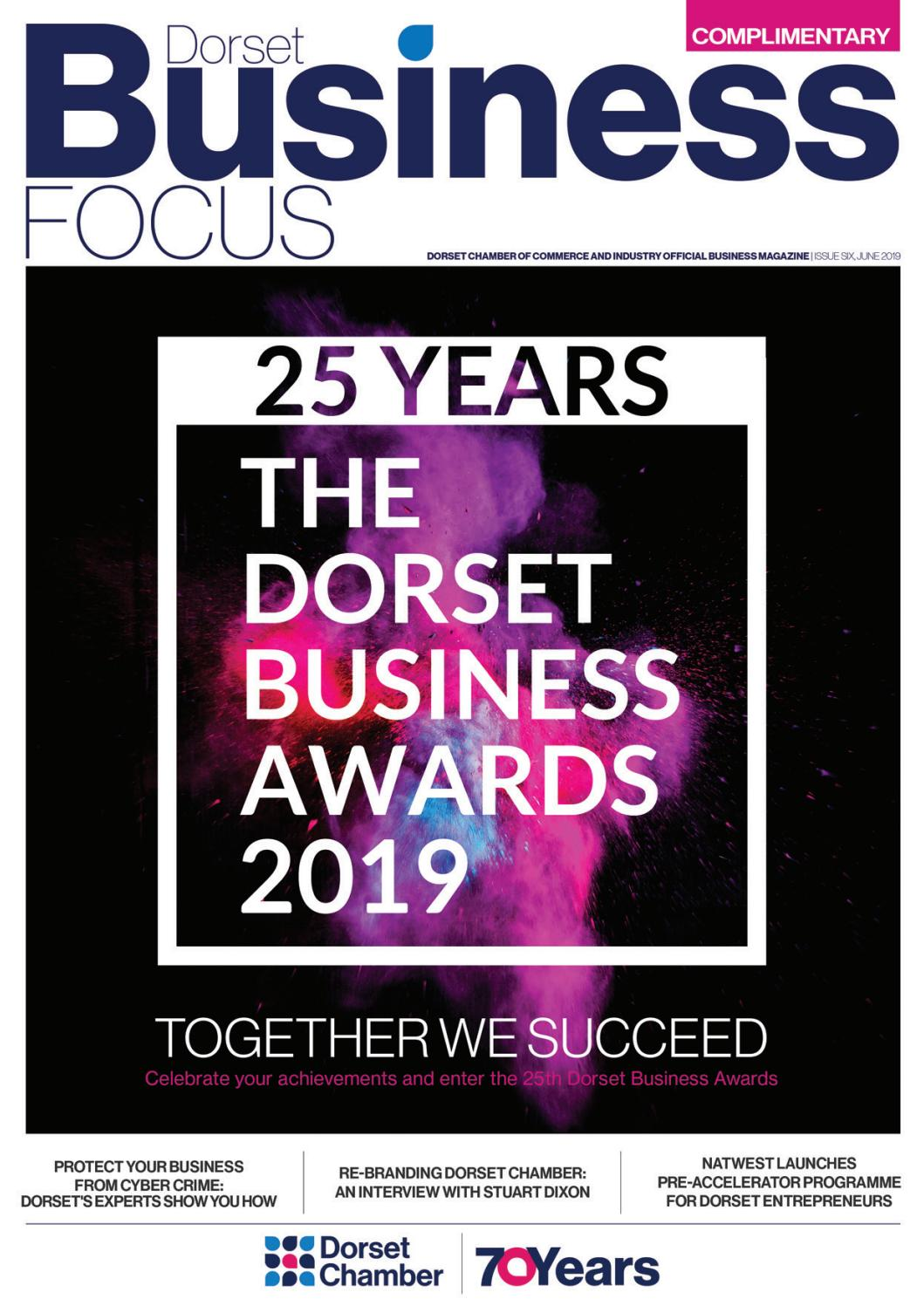 9517f091b62e Dorset Business Focus - June 2019 by mags4dorset - issuu
