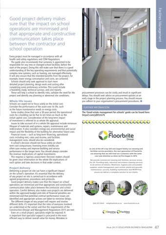 Page 47 of A guide to successful school estate projects