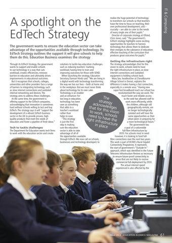 Page 61 of A spotlight on the EdTech Strategy
