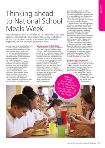 Page 77 of Thinking ahead to National Meals Week