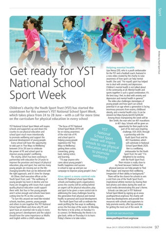 Page 97 of Get ready for YST National School Sport Week
