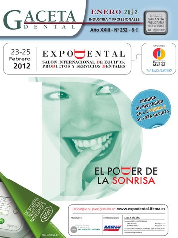 232 Gaceta Dental Issuu By Peldaño lJTFK13u5c