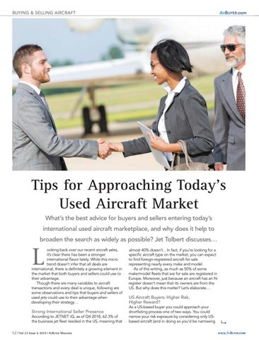 Page 52 of Tips on Navigating Today's Business Aircraft Sales Market