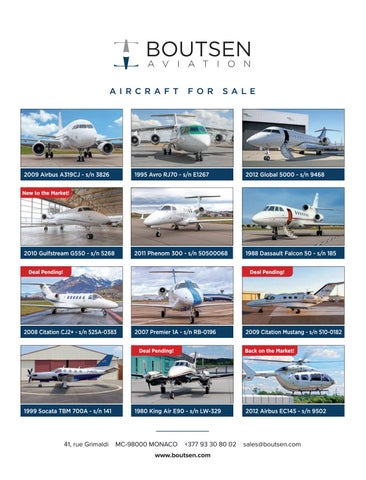 Page 53 of Tips on Navigating Today's Business Aircraft Sales Market