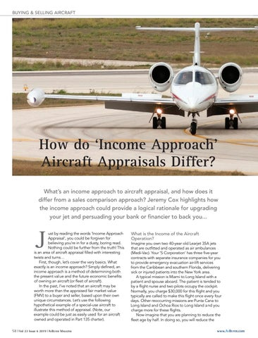 Page 58 of How do 'Income Approach' Aircraft Appraisals Differ?