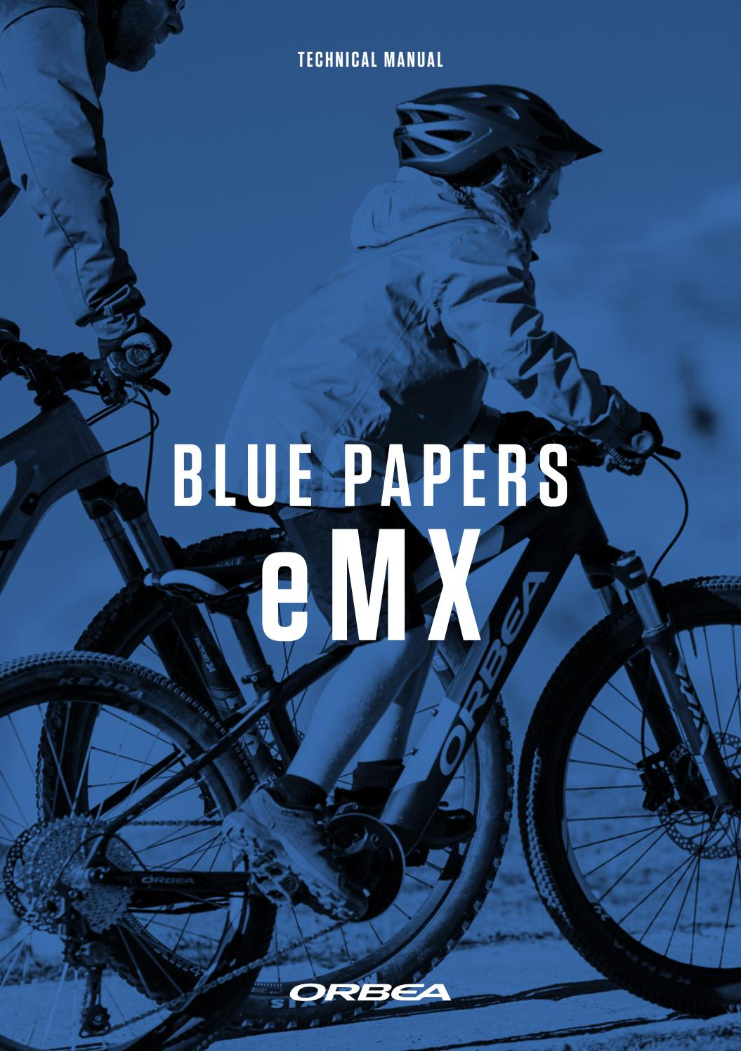 blue-paper-eMX-2019-03/06/2019 by Orbea Bicycles - issuu