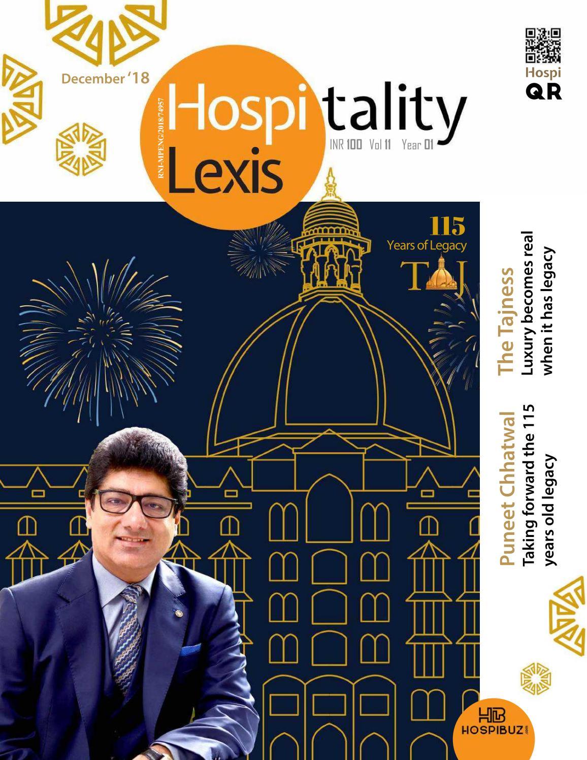 Hospitality Lexis December 2018 By Hospitality Lexis Issuu