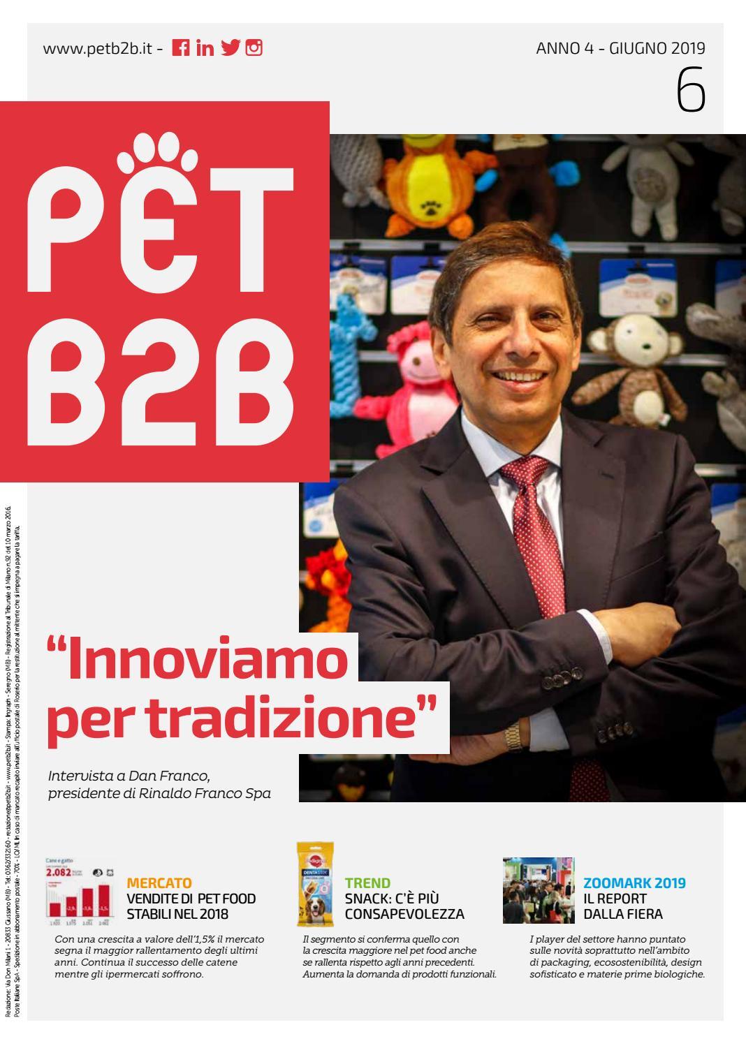 Pet B2b Giugno 2019 By By Editoriale Farlastrada Issuu
