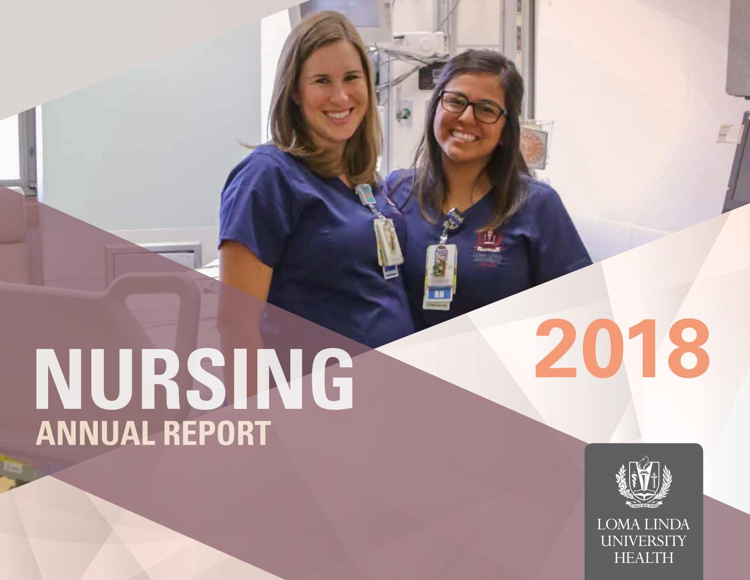 Nursing Annual Report MC-18 by Loma Linda University Health