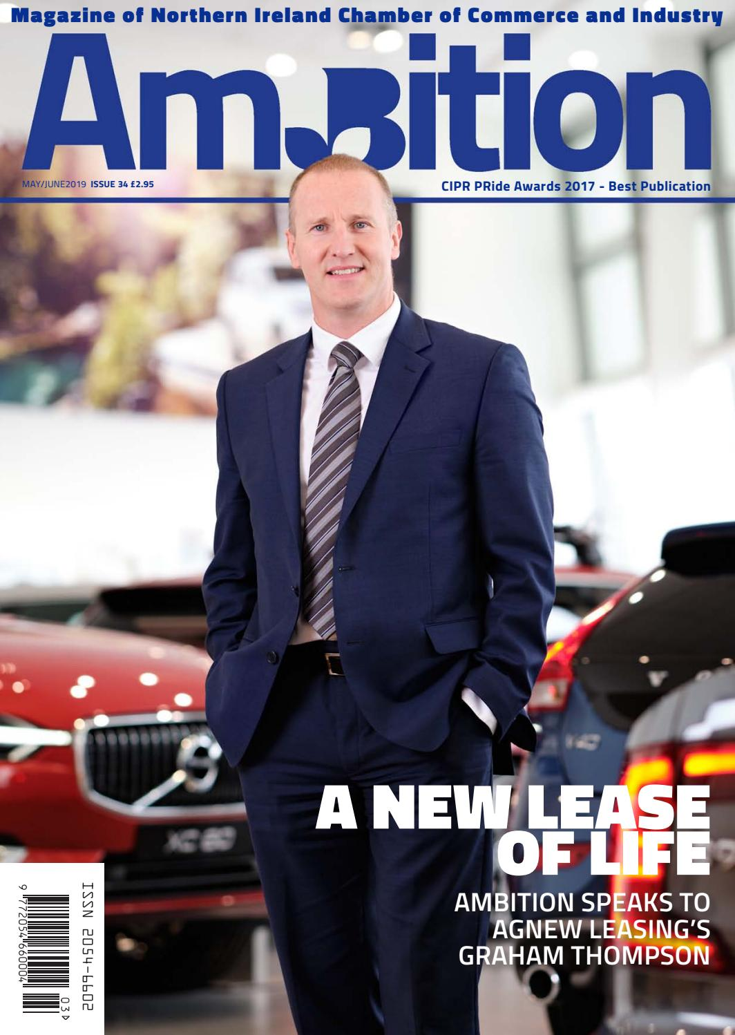 Ambition Issue 34 May June By Ni Chamber Of Commerce And Industry Issuu