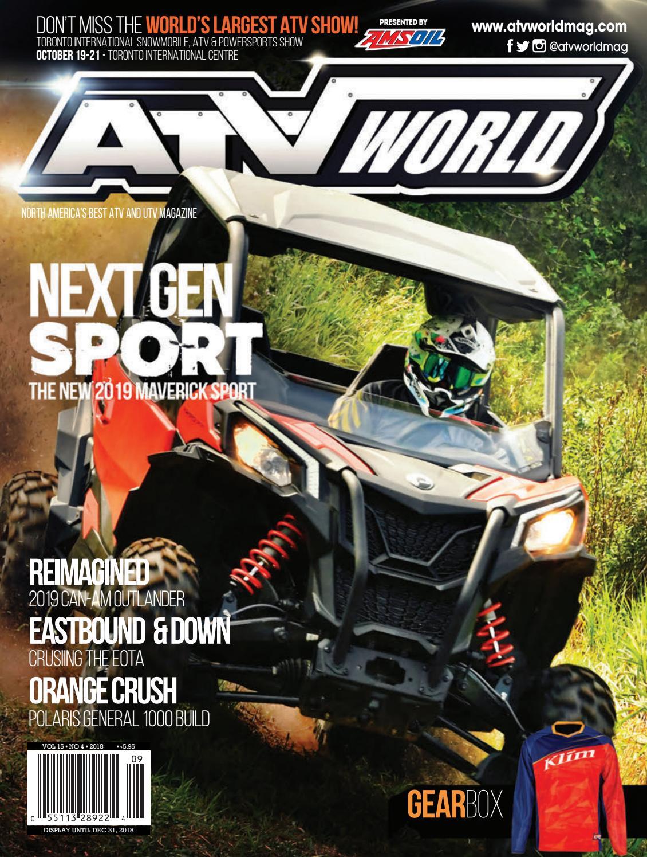 ATV World 15 4 by On Snow Magazine - ATV World Magazine - issuu