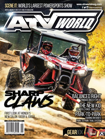 ATV World 15 5 by On Snow Magazine - ATV World Magazine - issuu