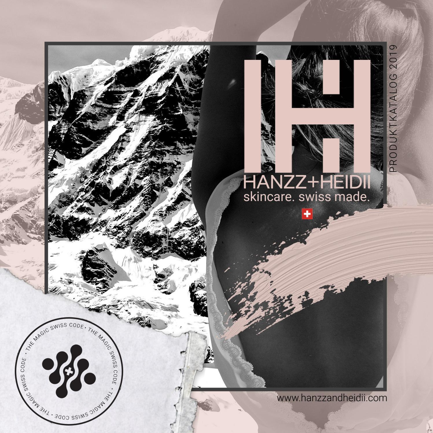 HANZZ+HEIDII Product Catalog | German by HANZZ+HEIDII - issuu