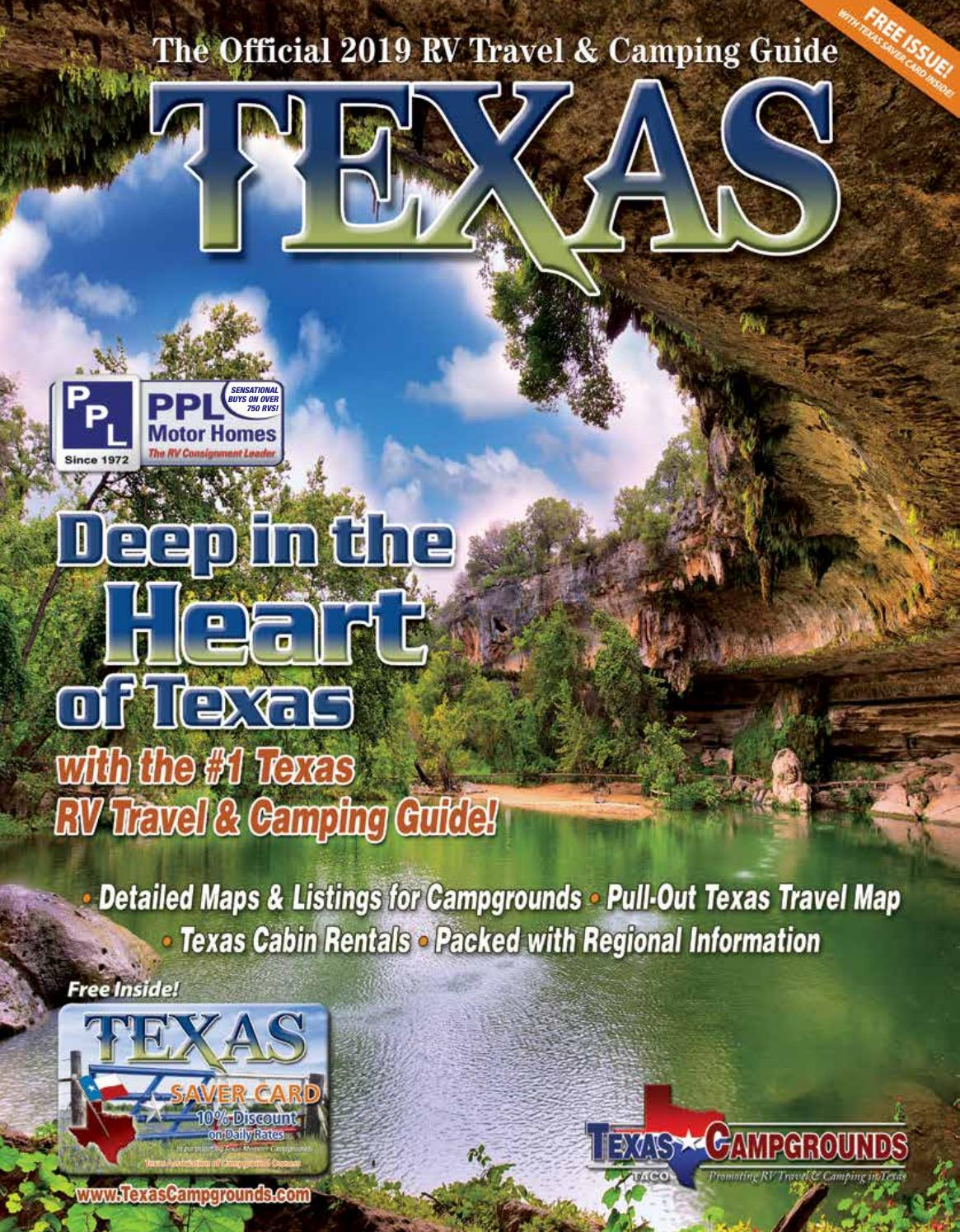 2019 RV Travel & Camping Guide to Texas by AGS/Texas