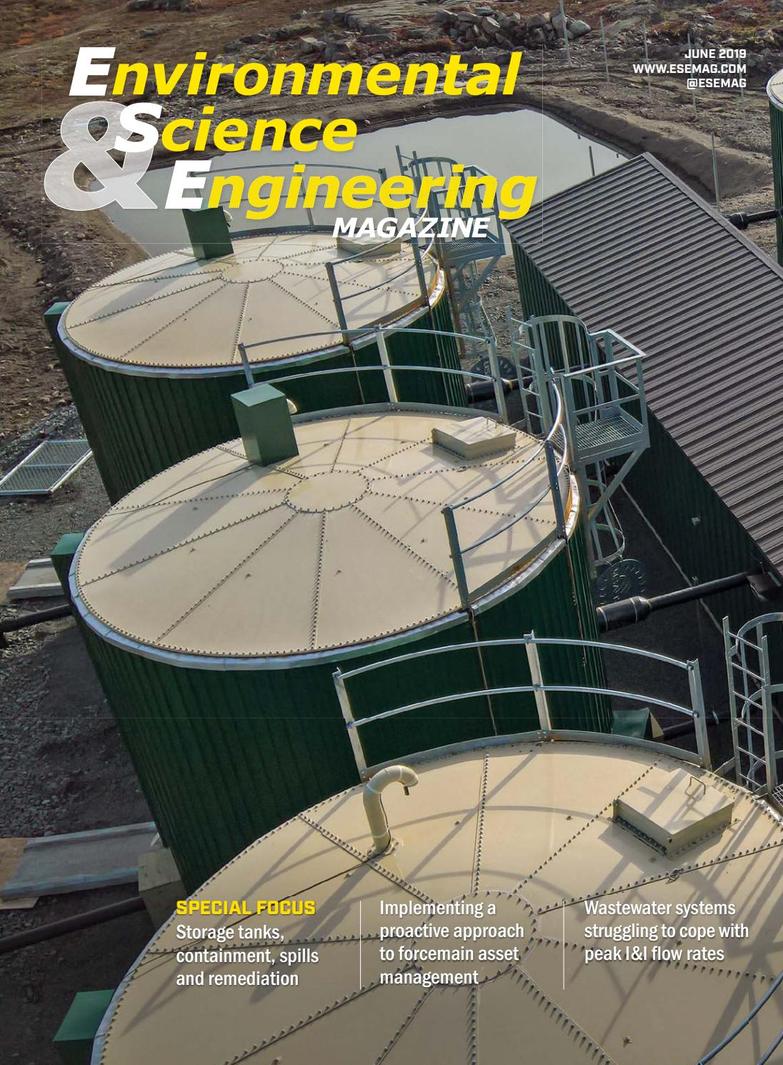 Environmental Science & Engineering Magazine | June 2019 by